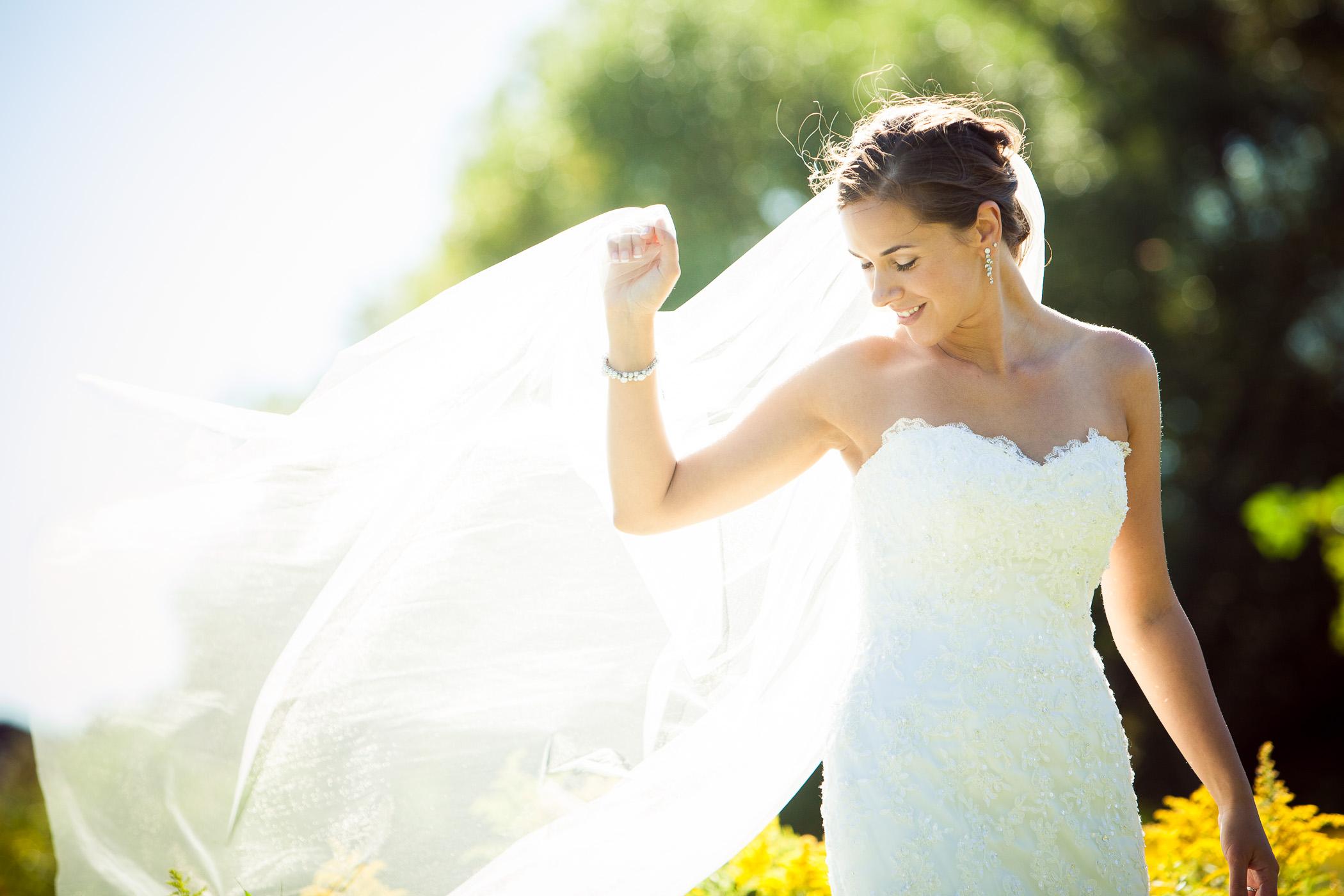 Bride at Toronto wedding